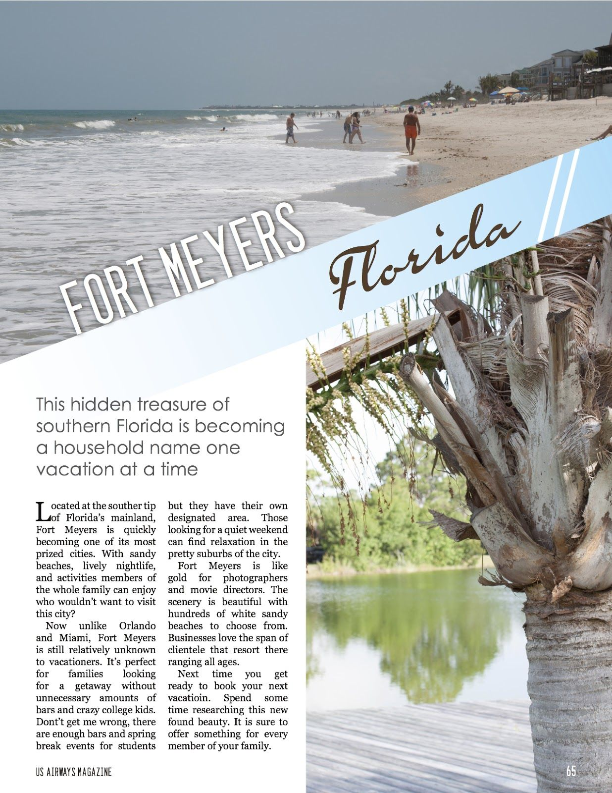 Travel Magazine Layout   layout   Pinterest