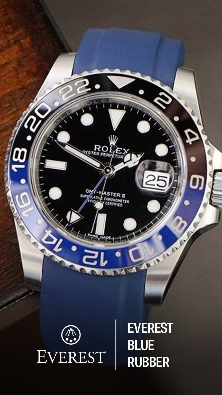 Rolex Rubber You Just Can T Go Wrong With This Combo Of Everest S Blue Rubber
