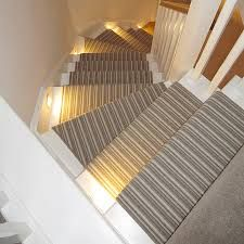 Striped Staircase Runners Google Search Carpet Stairs Striped Carpets Bullnose Carpet Stair Treads