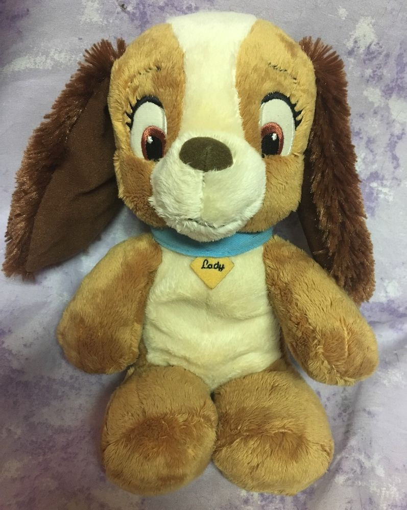 Disney Lady And The Tramp Lady Plush Stuffed Dog 10 Bean Bag Legs