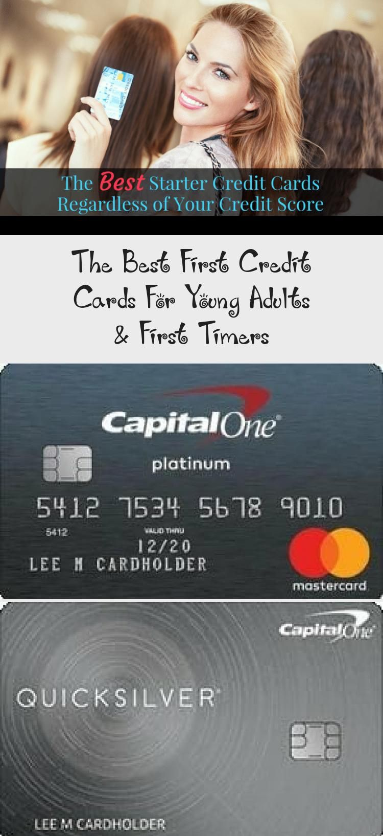 The Best First Credit Cards For Young Adults First Timers