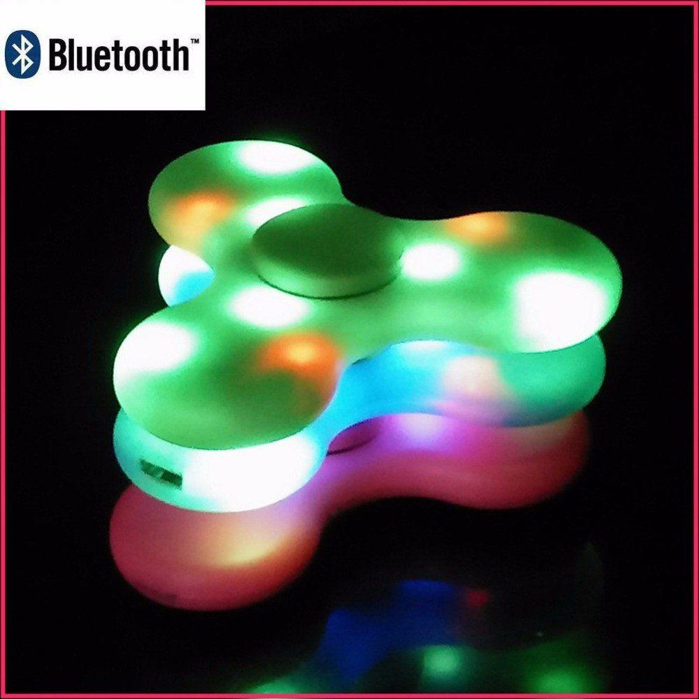 Led Light Switch Mini Bluetooth Speaker Music Fidget Spinner Hand Spinner Wireless Speakers Bluetooth Mini Bluetooth Speaker Led Light Switch