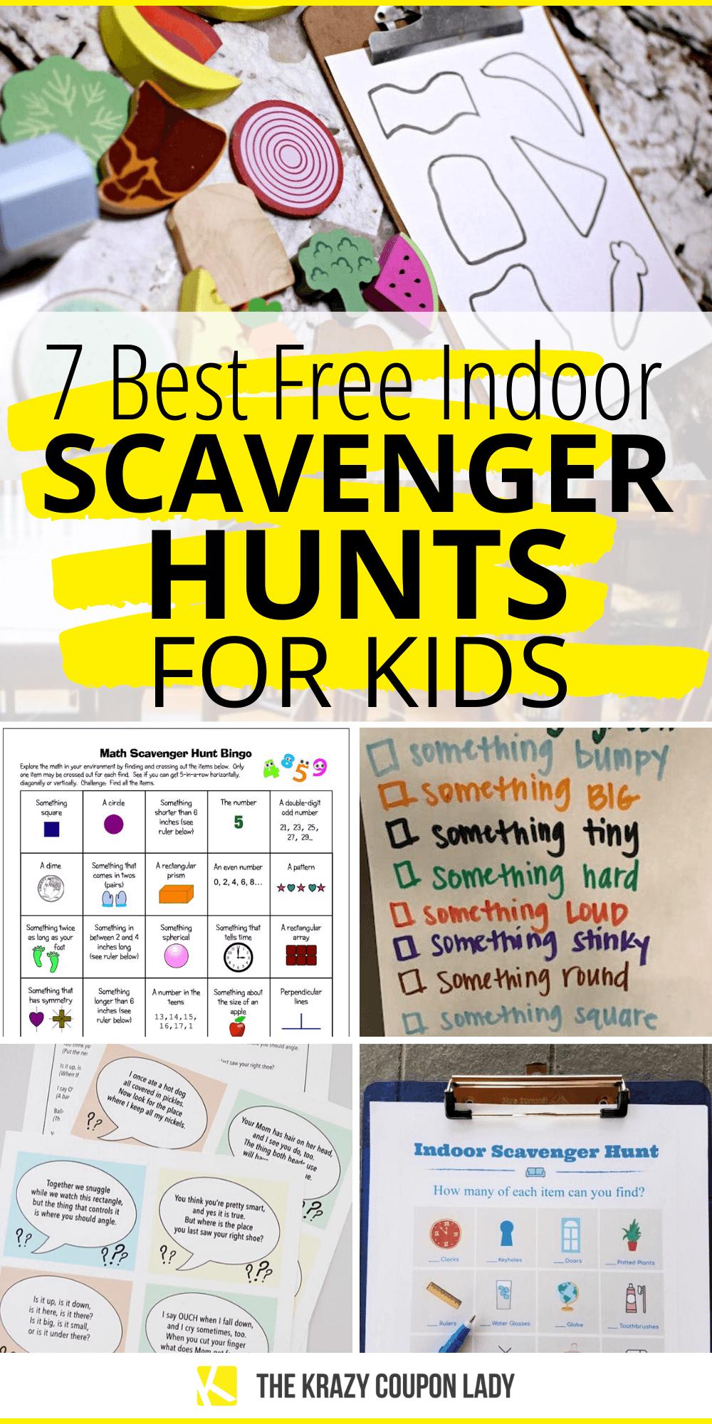 7 Best Free Indoor Scavenger Hunt Ideas For Kids In 2020 Family Math Night Scavenger Hunt Activities For Kids