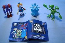 Subway Bump in the Night - Complete Set of 4 plus mini phamplet