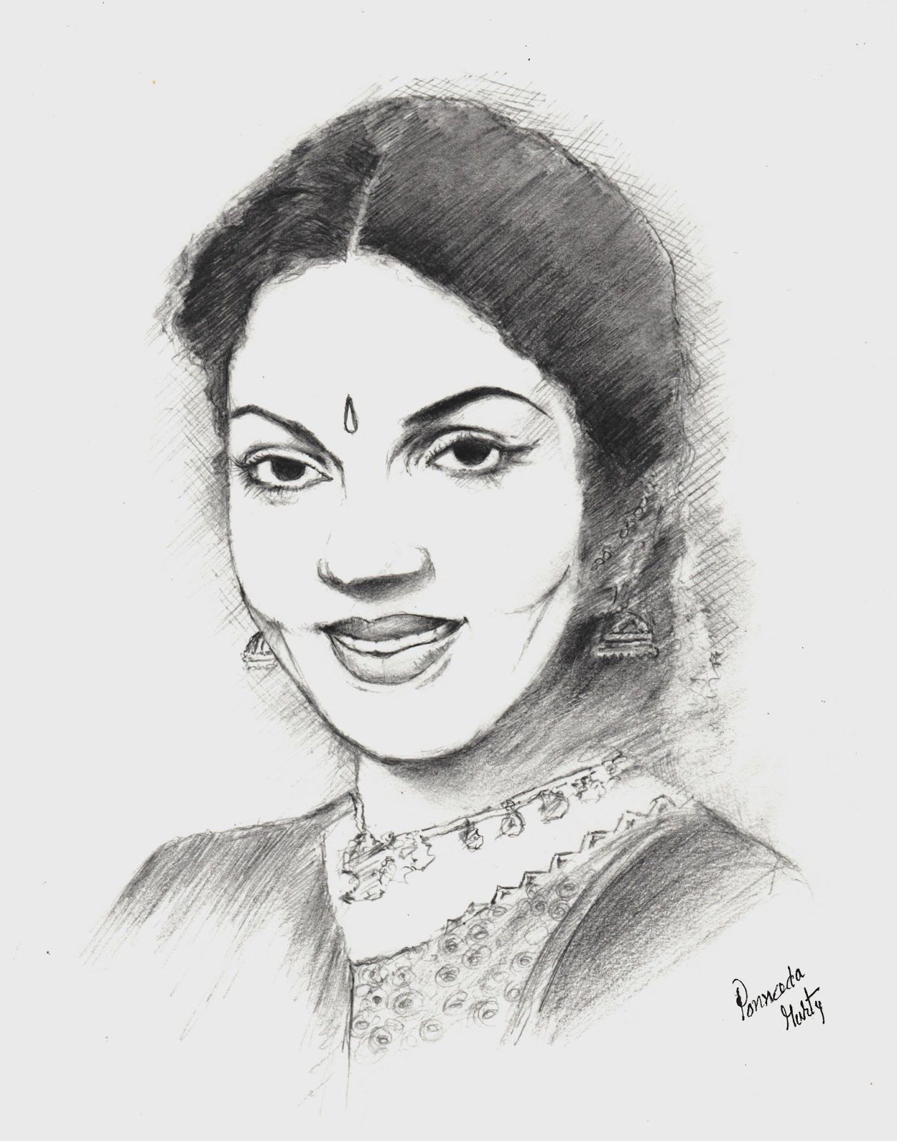 Pencil sketch of famous indian personalities drawing of sketch
