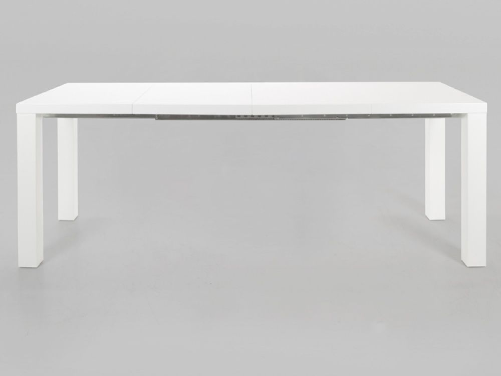 Captivating Frances White High Gloss Extending Dining Table Dining Tables From  Throughout Extendable White Dining Table : Extendable White Dining Table :  Topform.