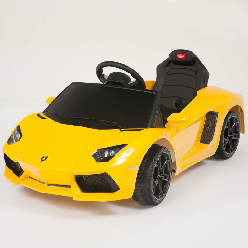 I M So Getting This For Bh Lol Lamborghini Yellow Aventador Lp700 4 Ride On Kids Electric Powered Wheels Ca Toy Cars For Kids Toy Car Kids Motorized Cars