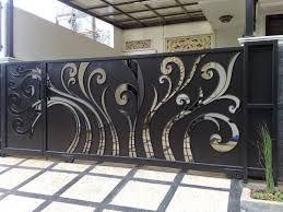 pintu pagar minimalis   minimalis, dekor, rumah minimalis