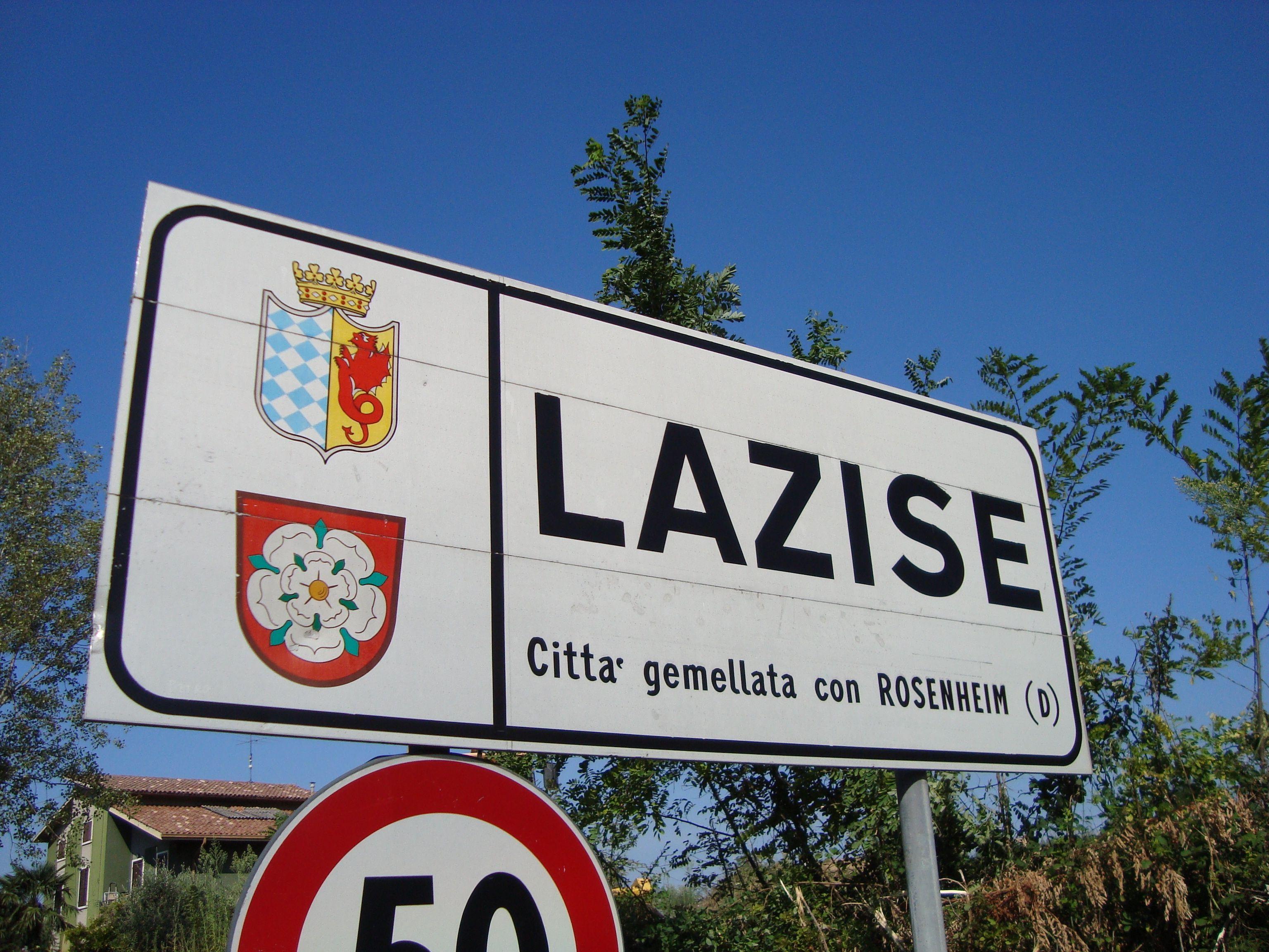 Lazise e le sue frazioni, in passato teatro di apparizioni di draghi e folletti e residenza di streghe e anguane...