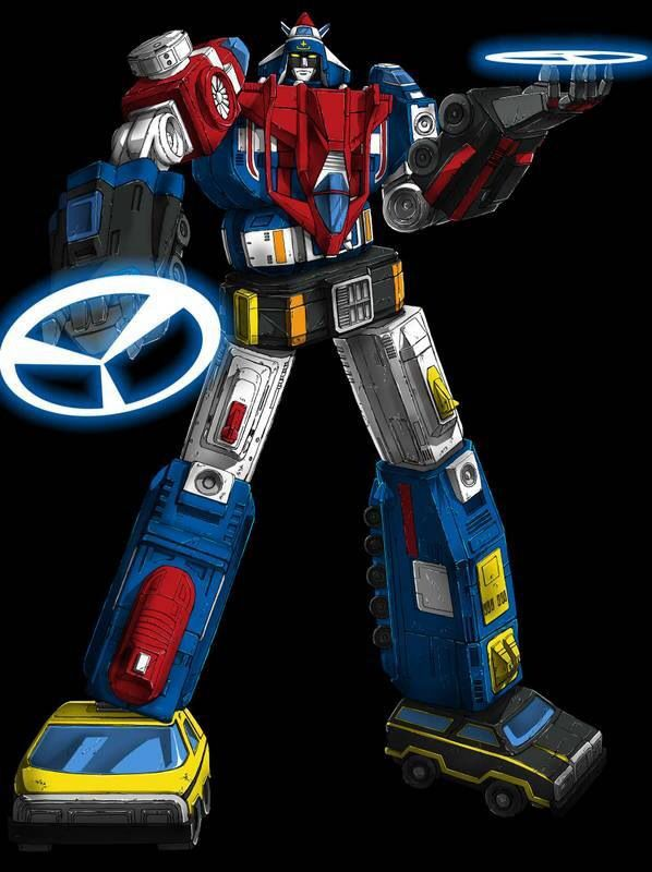 Vehicle Force Voltron