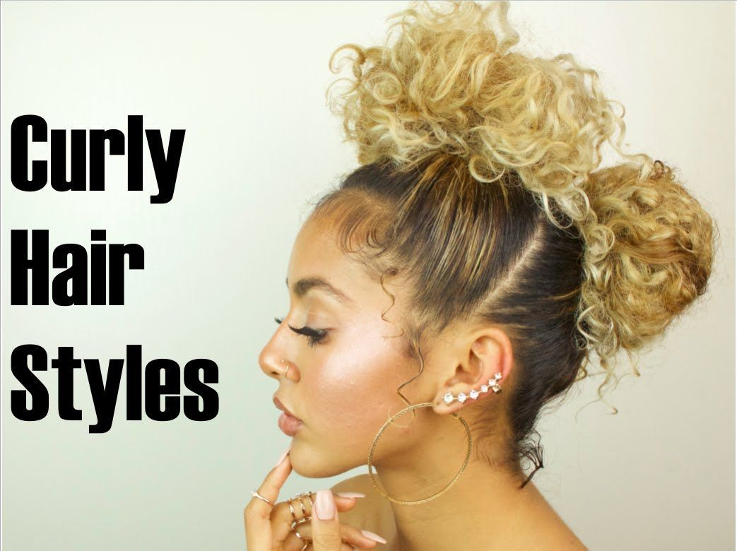 Quick easy curly hair styles for days when my hair doesnut have my