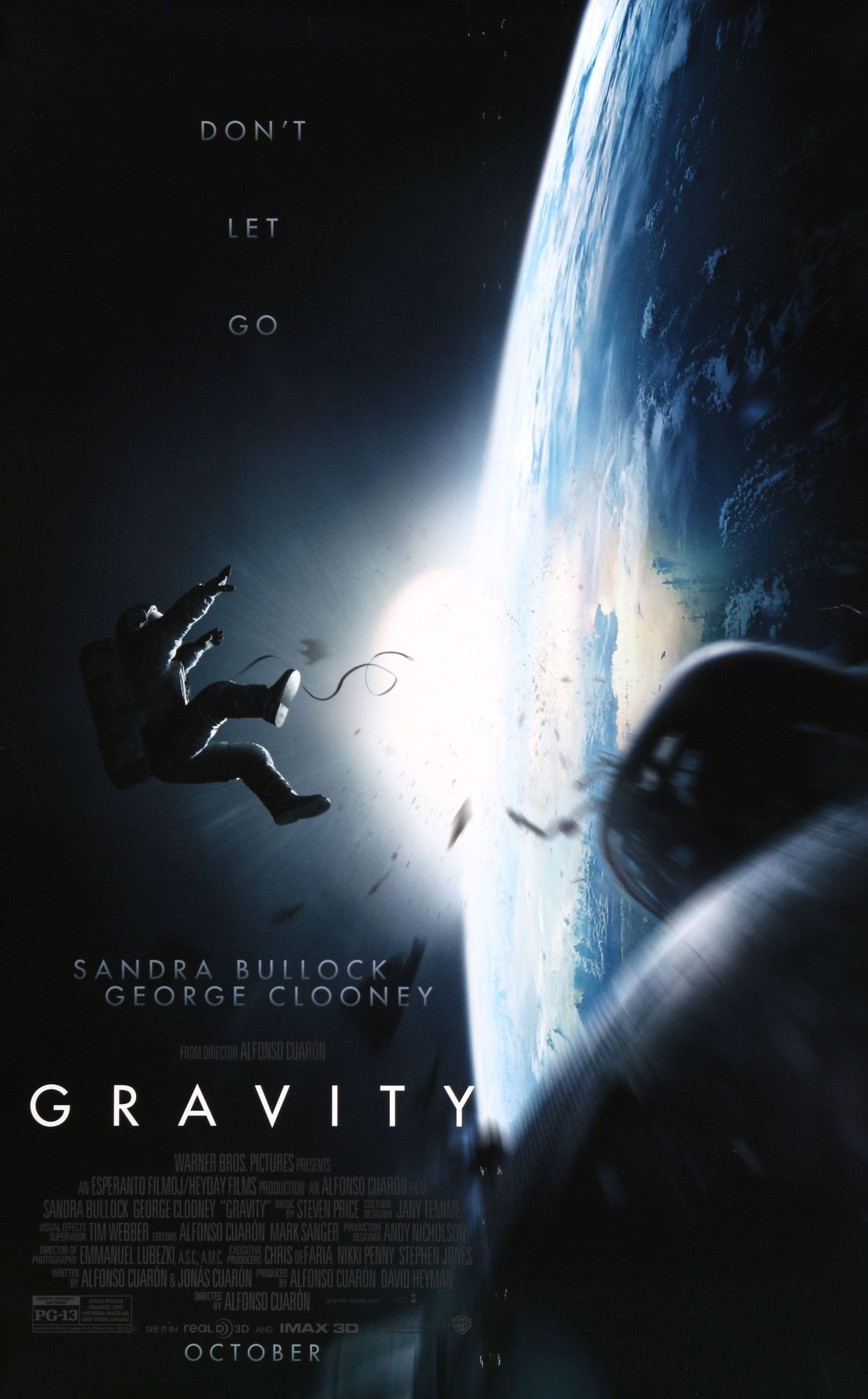 Gravity (2013) | Space movies, Gravity movie, Good movies