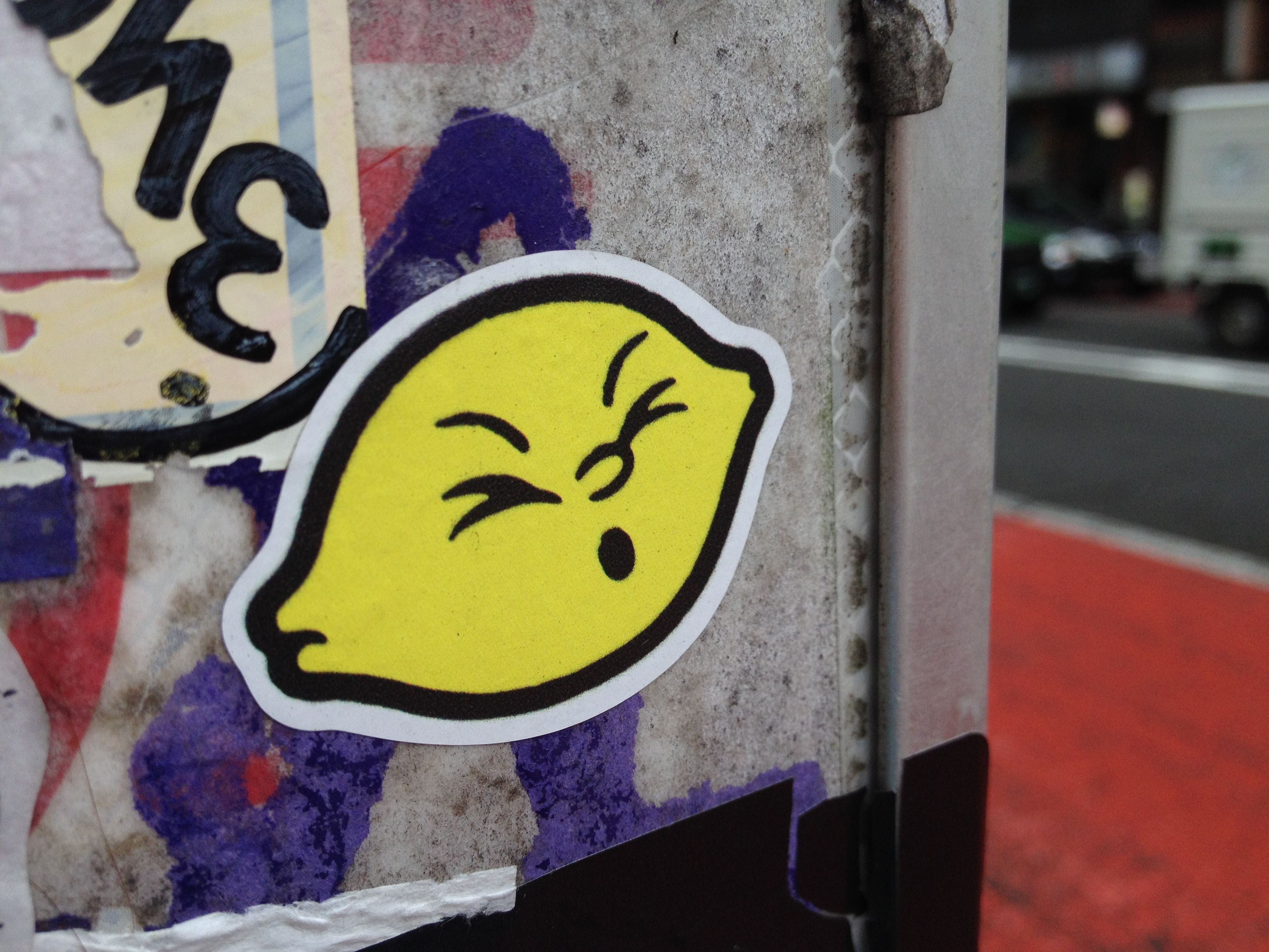 Stickers Street Art street art, sticker in yutenji, tokyo. | japan street art in 2018