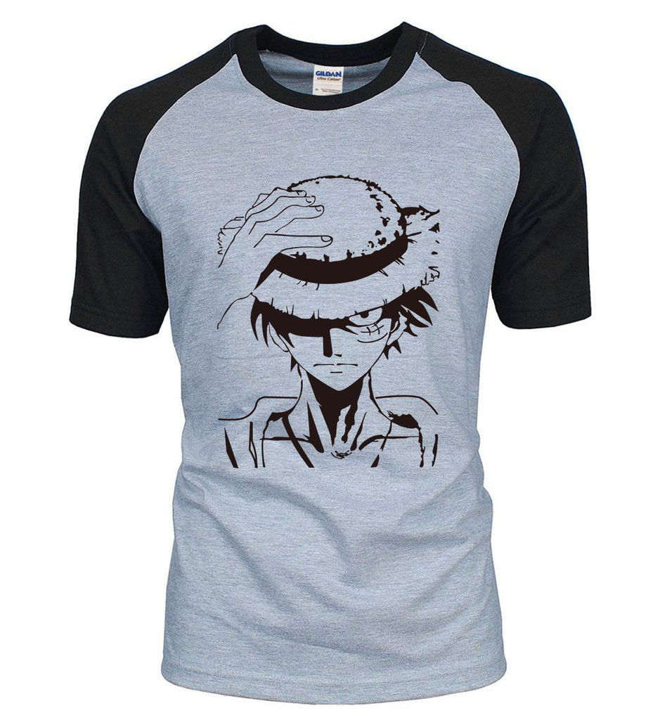 255ee8ae3e2de Anime One Piece Luffy Cotton HQ T-Shirt 6 Colors