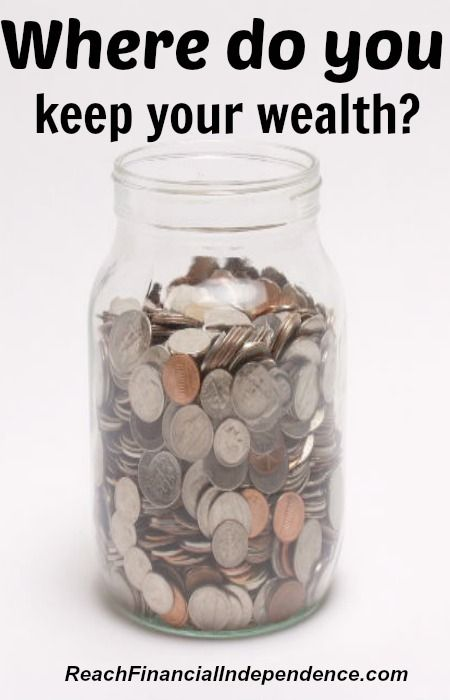 Where do you keep your wealth? #wealth #investment #retirement http://reachfinancialindependence.com/where-do-you-keep-your-wealth/