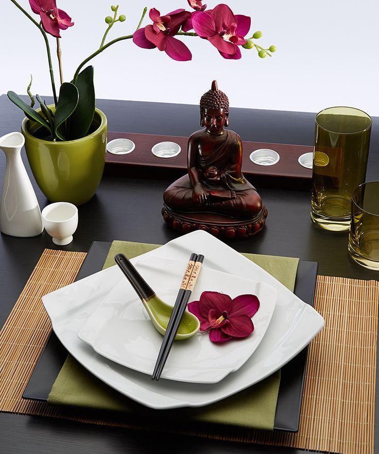 Now zen tableware set sacred space pinterest mesas - Mesas japonesas ...