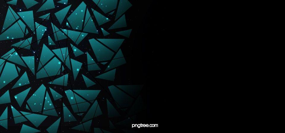 A Geometria Plana E Fundo Preto Black Background Wallpaper Geometric Background Creative Background