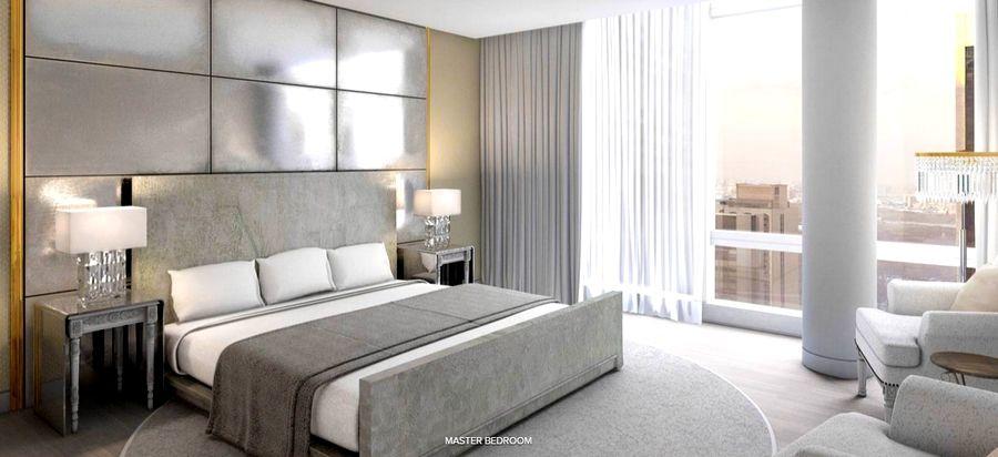 Master Bedroom Hotel baccarat hotel & residences new york - master bedroom   art deco