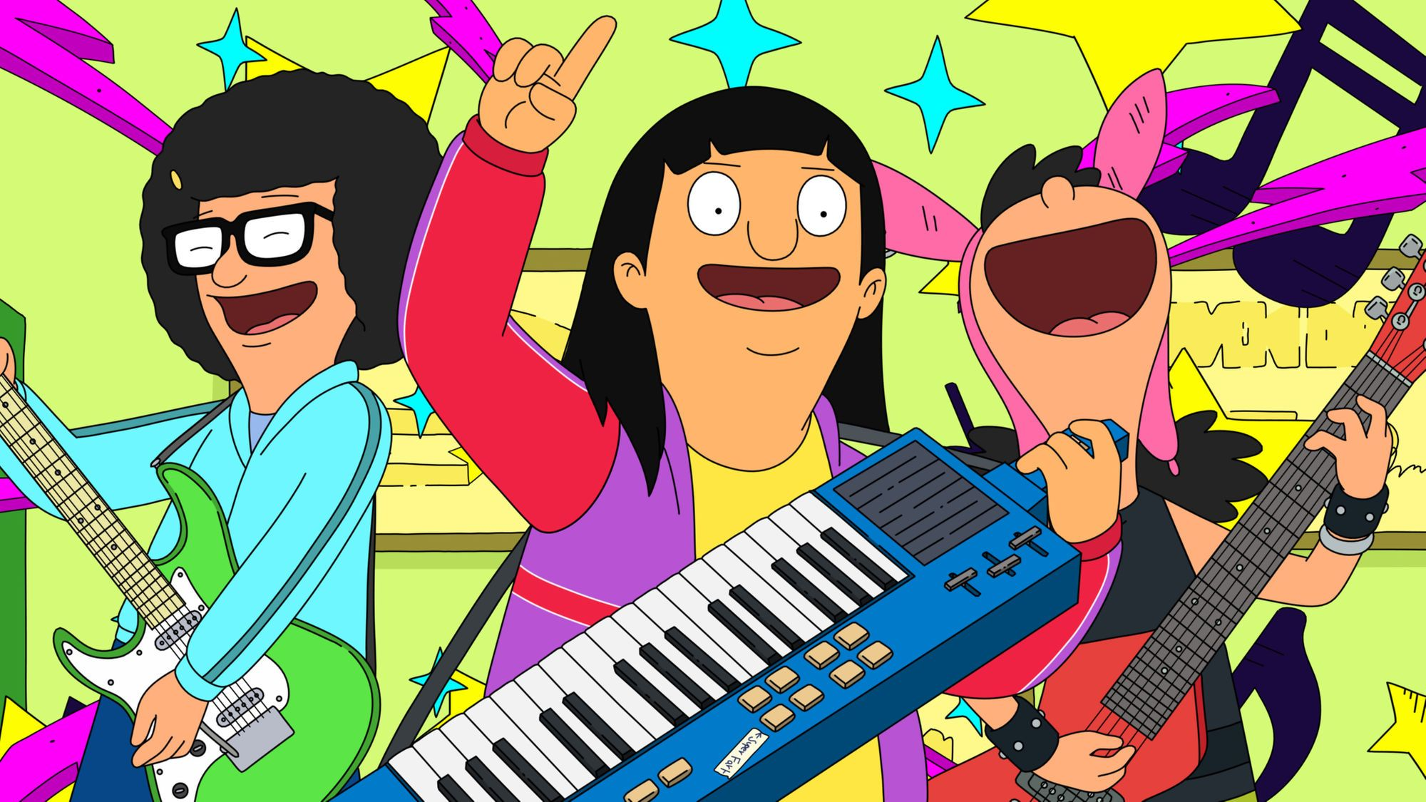 Holy Jingle In The Jungle The Bob S Burgers Album Is On It S Way Bobs Burgers Songs Bob S