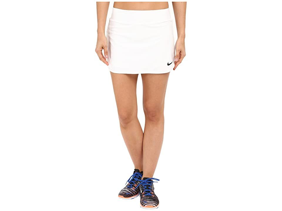 Nike Court Pure Tennis Skirt White Black Women S Skort Return The Serve So That It S Just Out Of Her Reach Yo In 2020 Tennis Skirt Nike Women Active Wear For Women