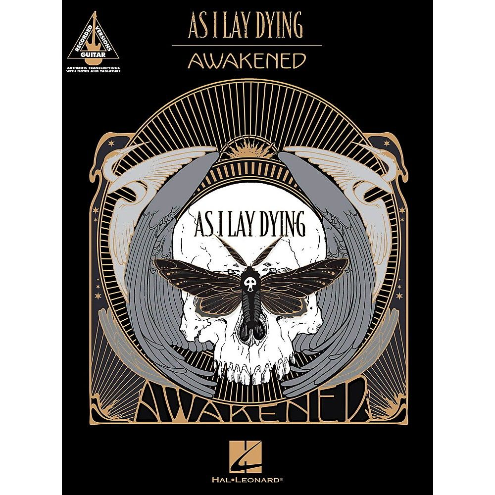 Hal Leonard As I Lay Dying Awakened Products Pinterest Products