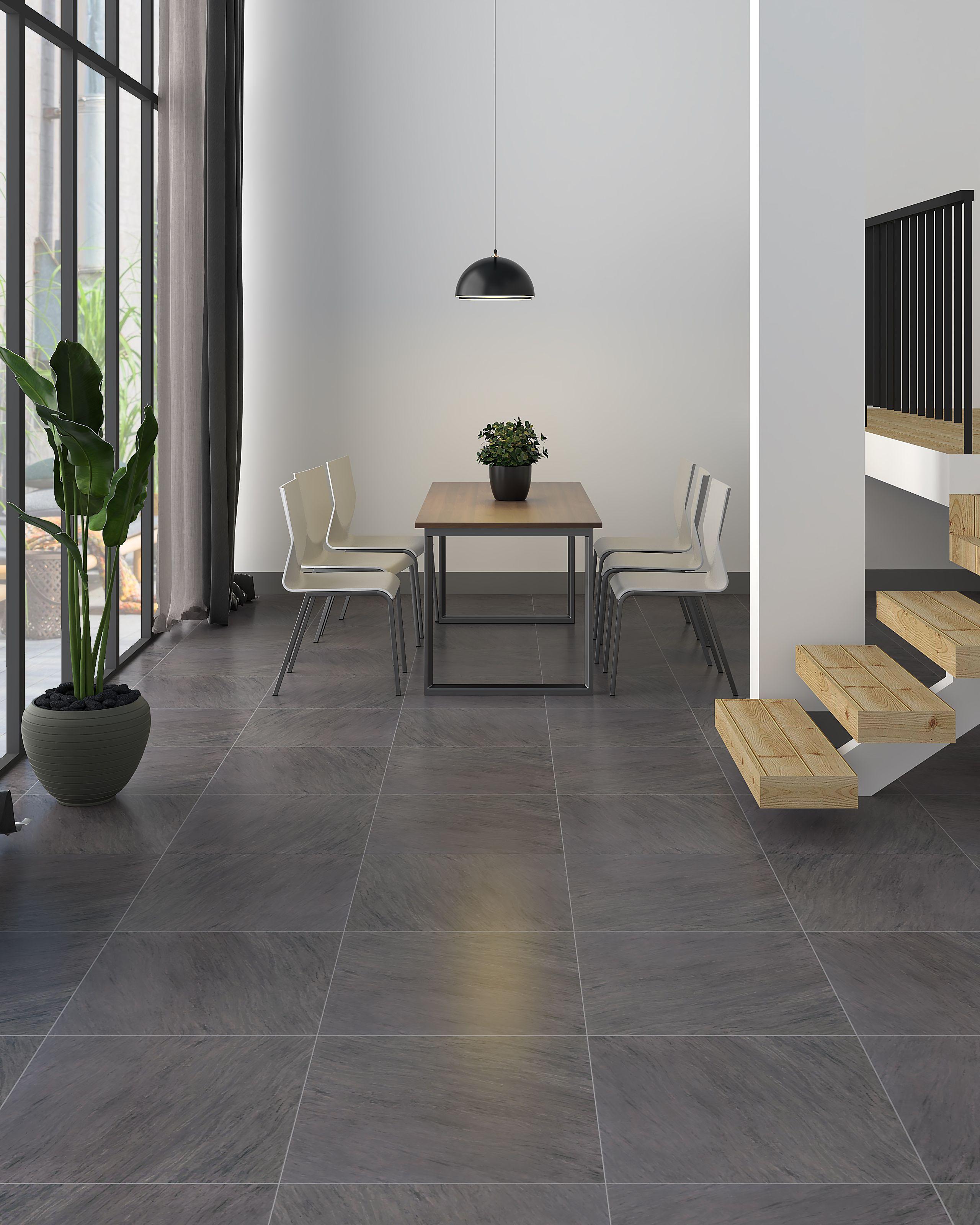 Floor Tile Java Darkgrey Matt By A Decor Grey Floor Tiles Living Room Living Room Tiles Grey Tiles Living Room