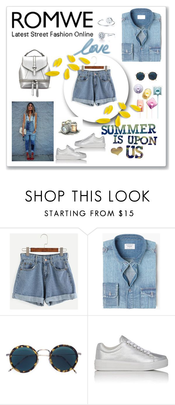 """Bez naslova #240"" by ellma94 ❤ liked on Polyvore featuring MANGO MAN, Eyevan 7285 and Prada Sport"