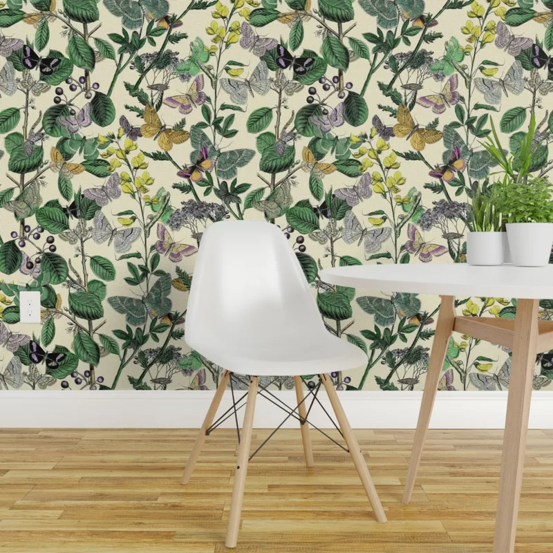 Charlton Home Biddulph Peel and Stick Wallpaper Panel | Wayfair