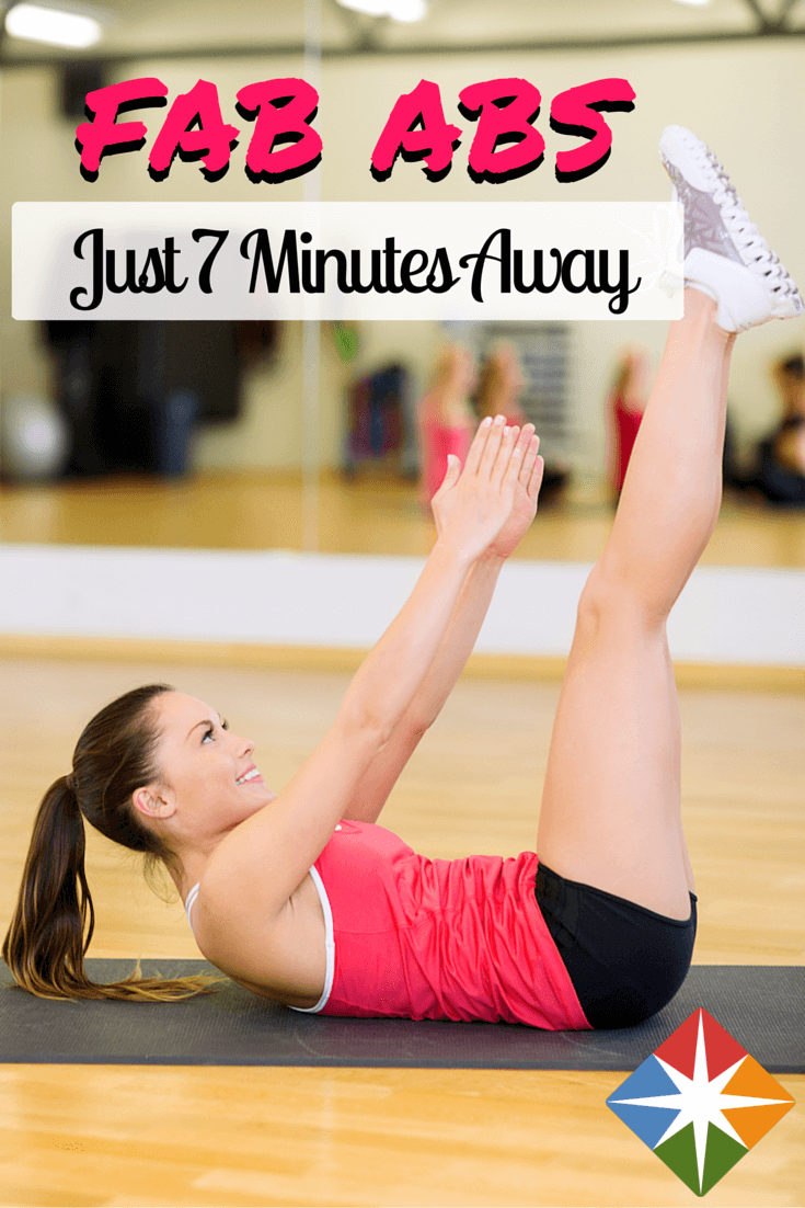 Try this 7-minute core exercise you can do anywhere! Try this Blogilates video and feel stronger, more stable and leaner in as little as 7 minutes! Get healthy, one workout at a time!