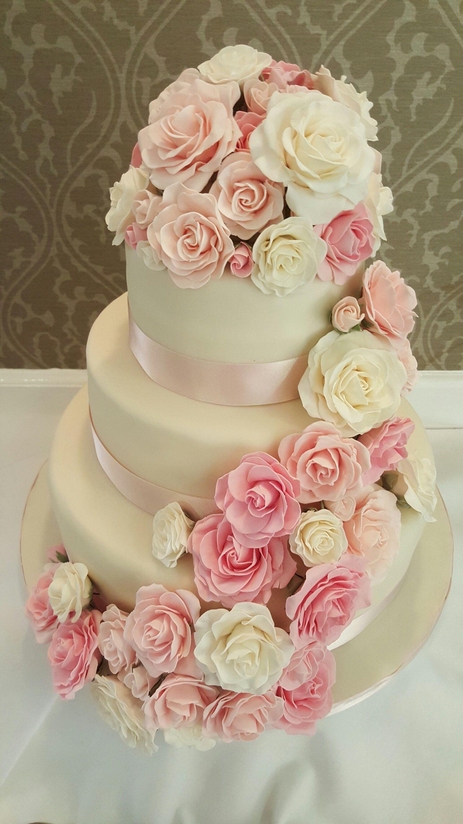 Stunning! | Свадебный торт, Свадебные торты, Свадьба