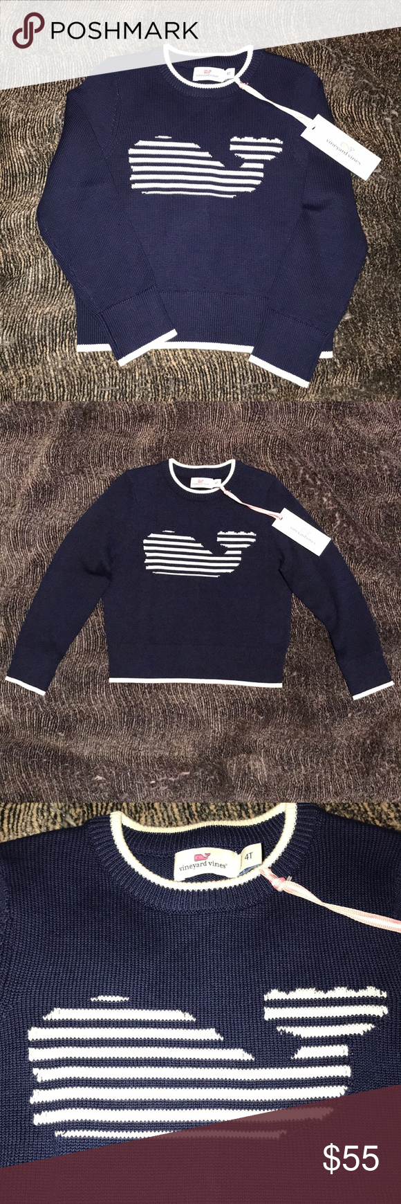 5d532a6c6 Vineyard Vines Whale Sweater NWT Brand New with tags Vineyard Vines ...