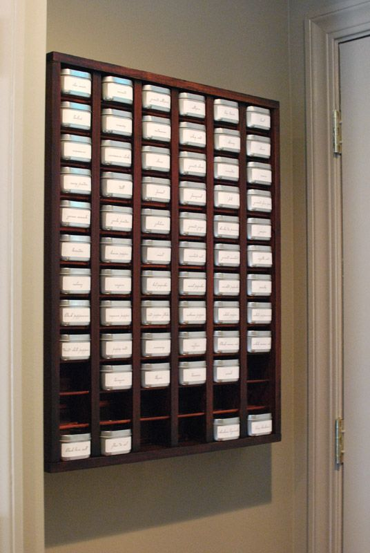 Spice Rack Spice Rack Ideas Pinterest Wall Mounted