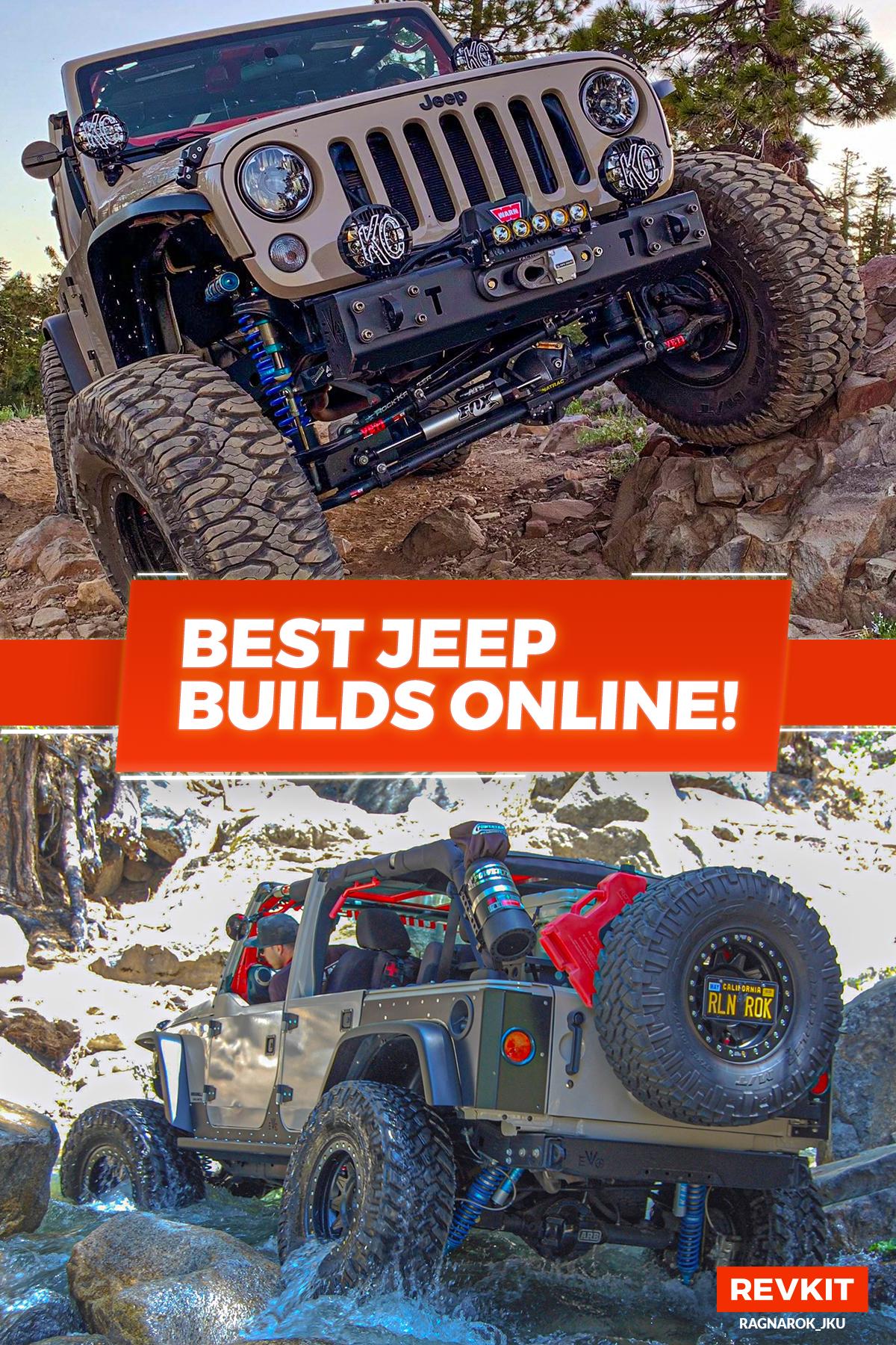 A 2016 Jeep Wrangler JKU Sport 4dr 4x4 build by Ragnarok