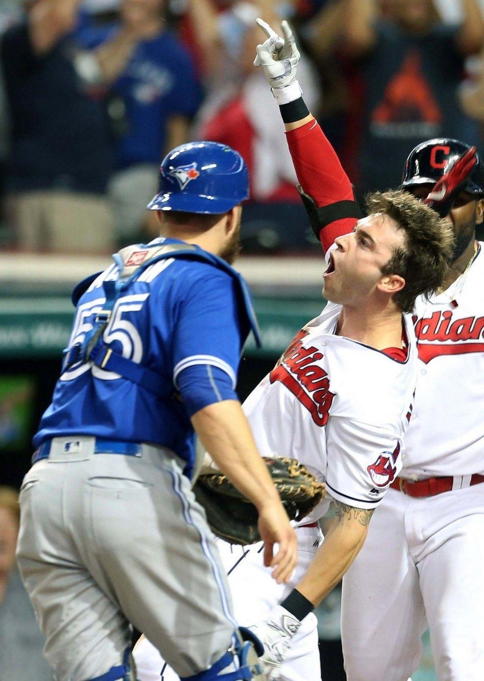Indians Vs Toronto Blue Jays Cleveland Indians Cleveland Indians Baseball Tyler Naquin