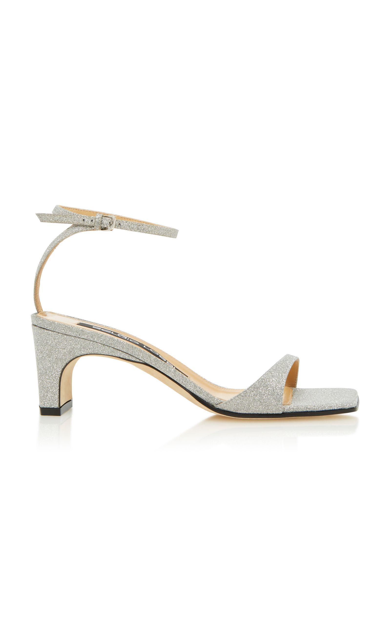 8039e954a8c SERGIO ROSSI SR1 KITTEN HEEL SANDAL.  sergiorossi  shoes