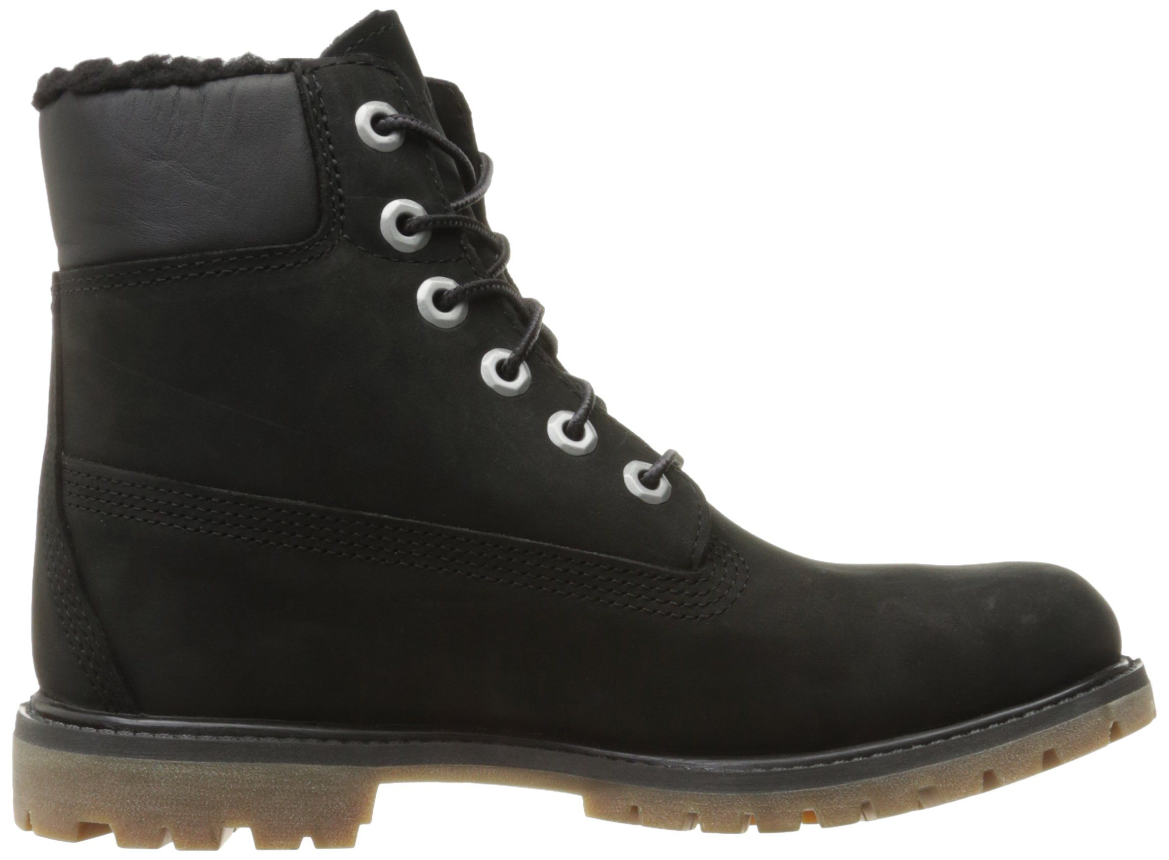 d407903bf274 Timberland Womens 6 Inch Premium Fleece Lined WP Winter Boot Black ...