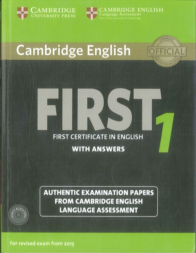 First Certificate English 1 Cambridge Revised Exam From 2015 Audio