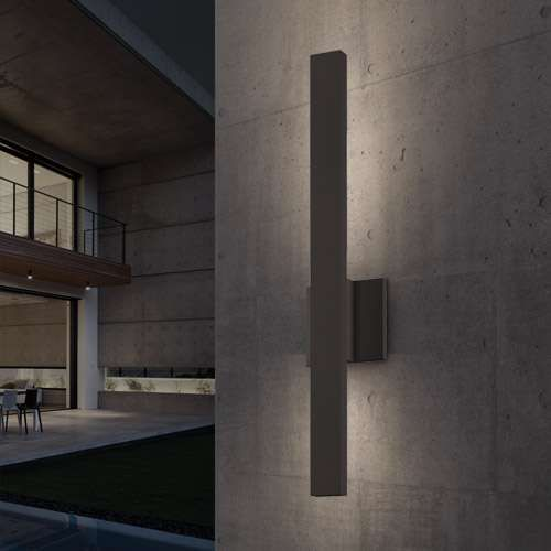 Sonneman Sword Outdoor Sconce Poss Modern Outdoor Lighting Exterior Wall Light Wall Sconce Hallway