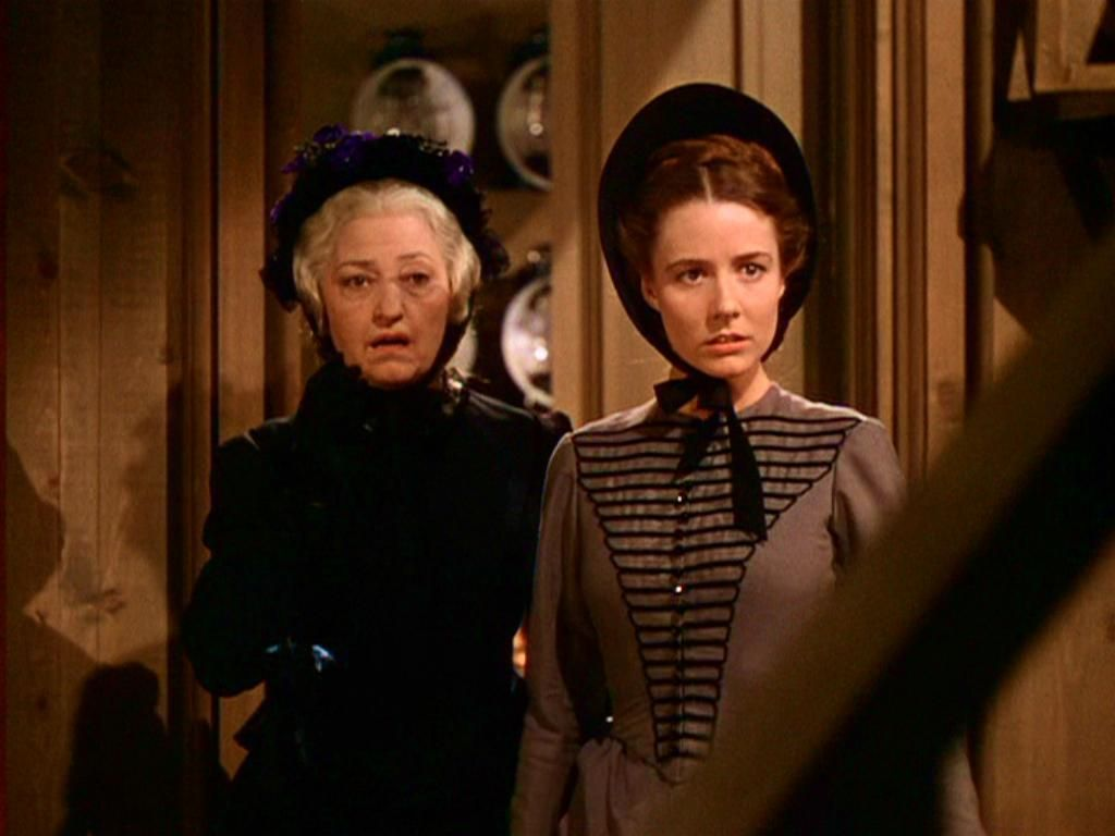 Caroline Meade and India Wilkes have just seen Scarlett and Ashley at the mill.