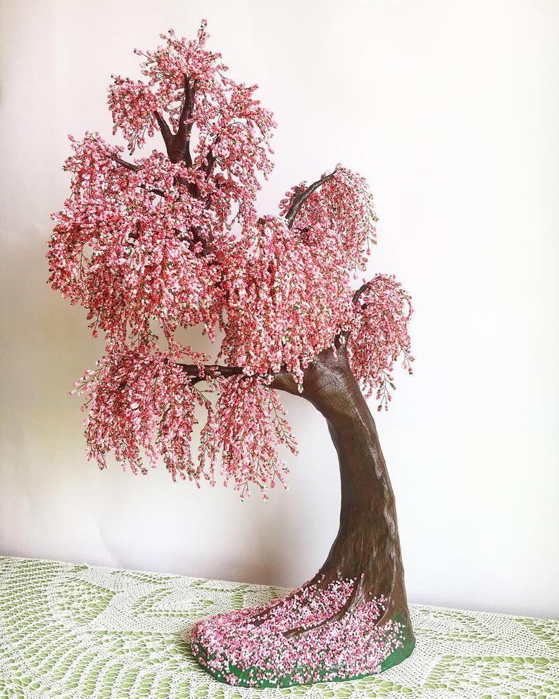 Large Cherry Blossom Bonsai Tree Live Bonsai Tree Tree Of Life Etsy In 2021 Cherry Blossom Bonsai Tree Bonsai Tree Wire Tree Sculpture