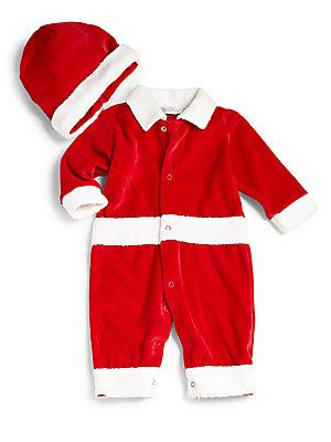 Kissy Kissy Infant S Two Piece Christmas Delights Santa