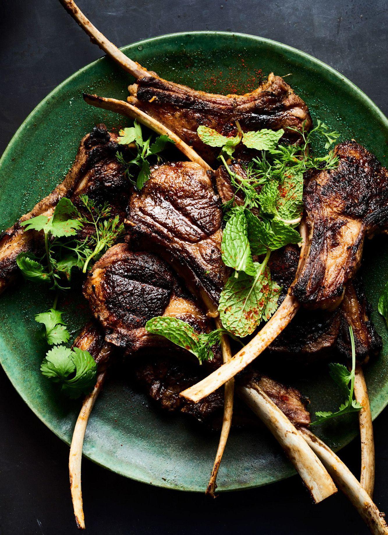 Spice Marinated And Grilled Lamb Chops Recipe Lamb Chop
