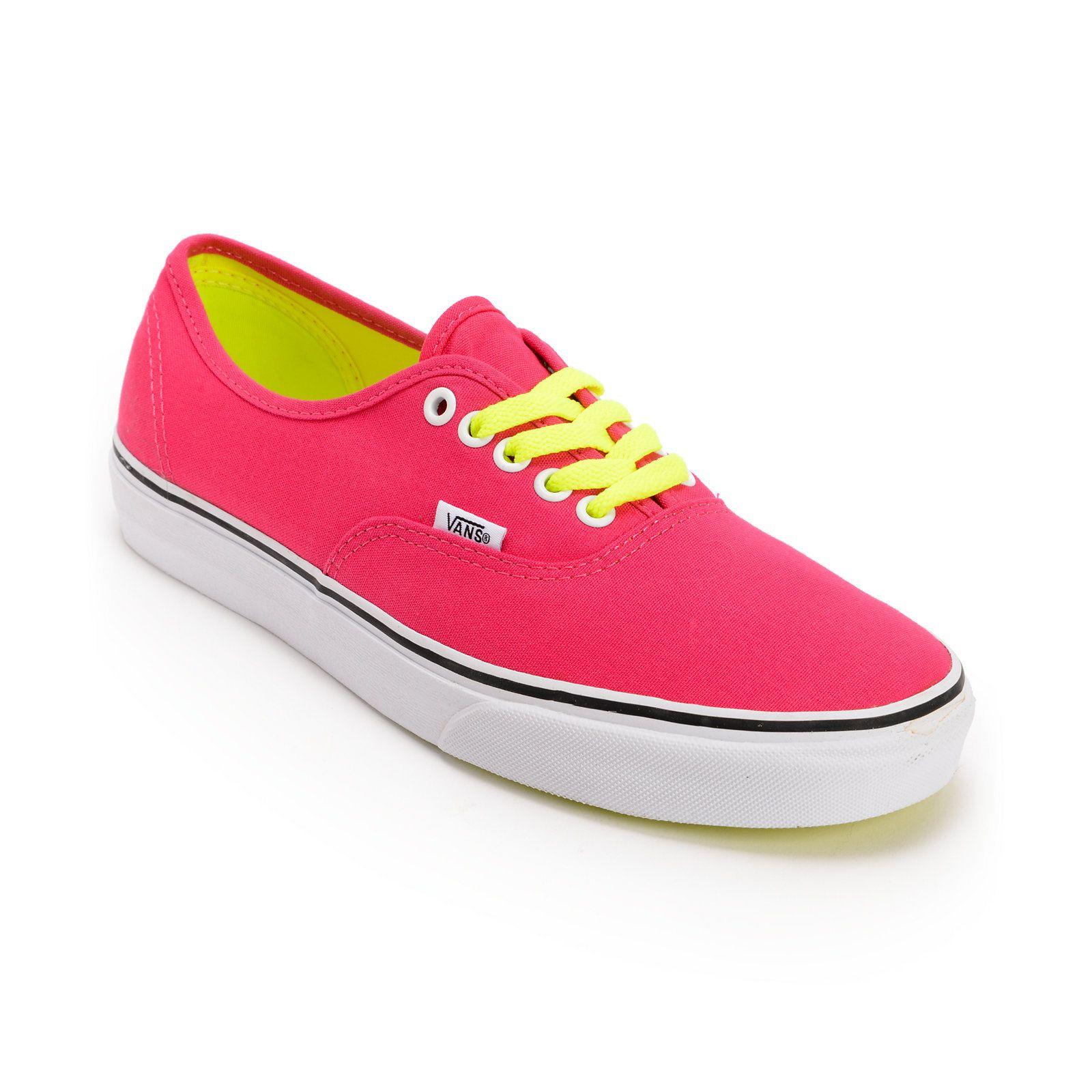 pink vans shoes