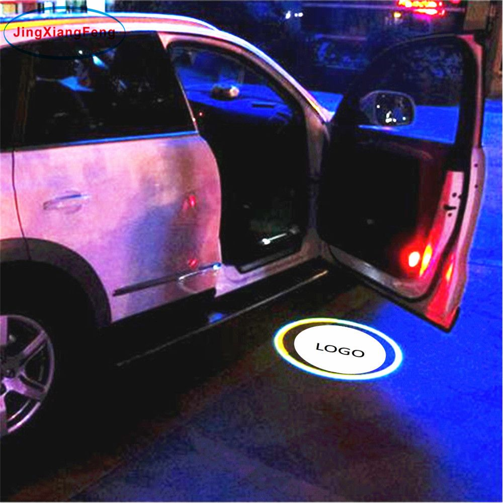 40 Cashback 45 Off Jingxiangfeng 2pcs Led Car Door Welcome
