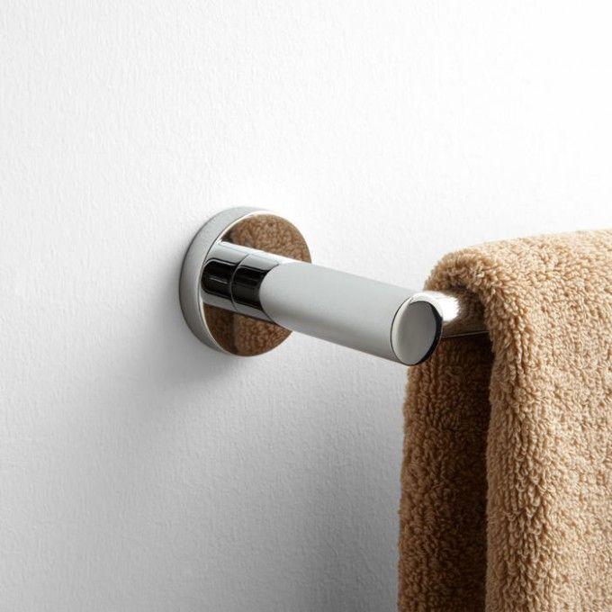 Rotunda Towel Bar Towels, Bar and Solid brass