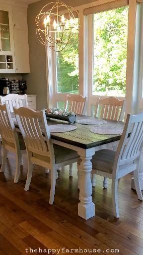 Modern Farmhouse Dining Room Table