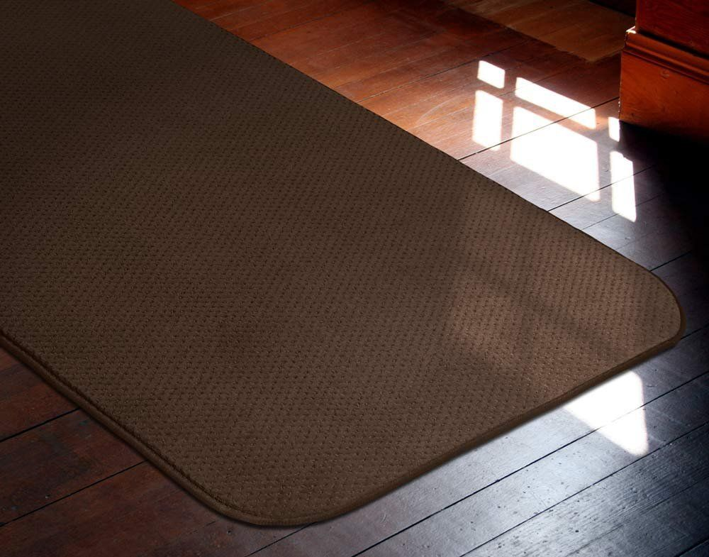House Home And More Skidresistant Carpet Runner Chocolate Brown 10 Ft X 27 In Many Other Sizes To C With Images How To Clean Carpet Carpet Runner Dry Cleaning At Home