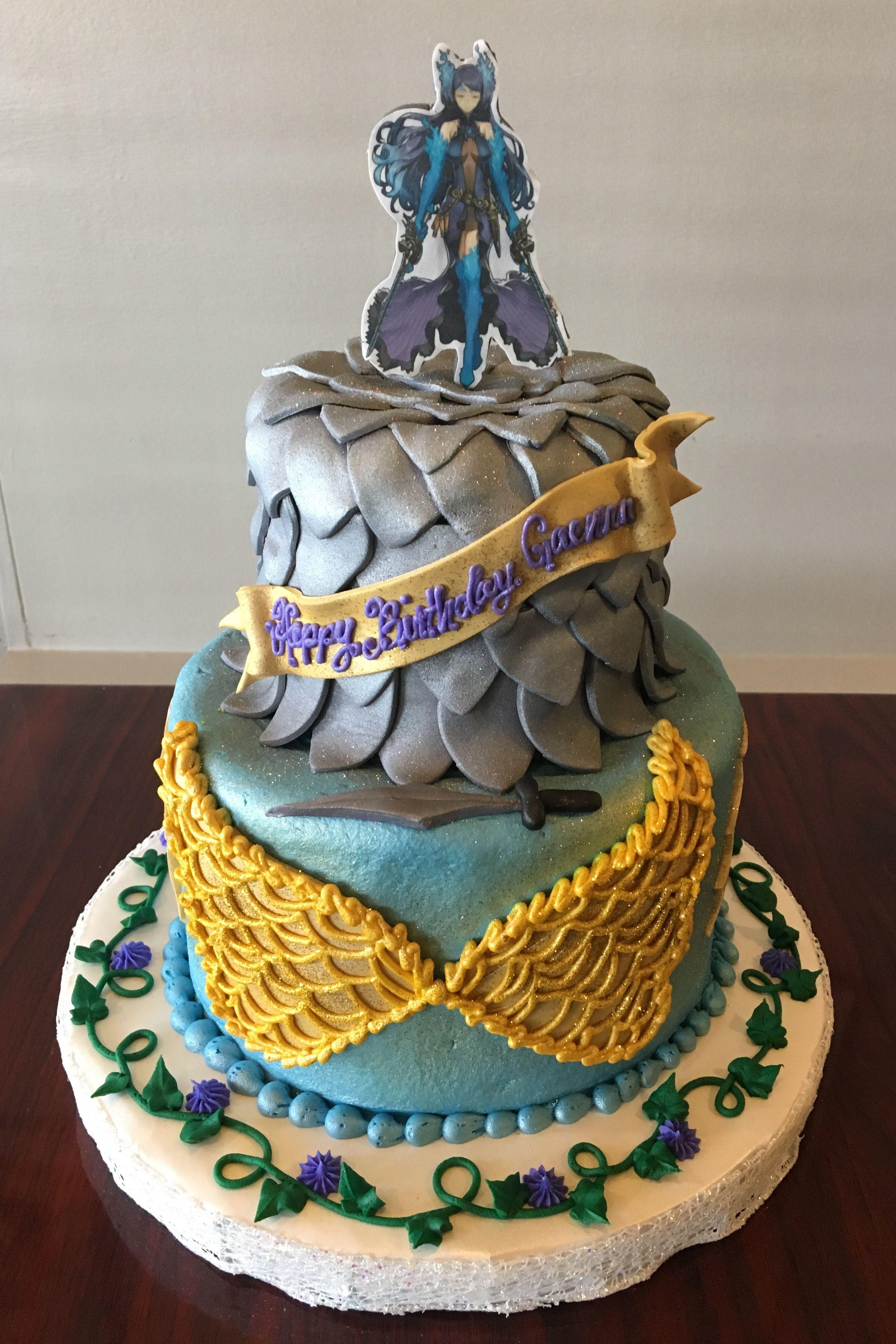 Fantasy Game Birthday Cake Adrienne Co Bakery Video Game