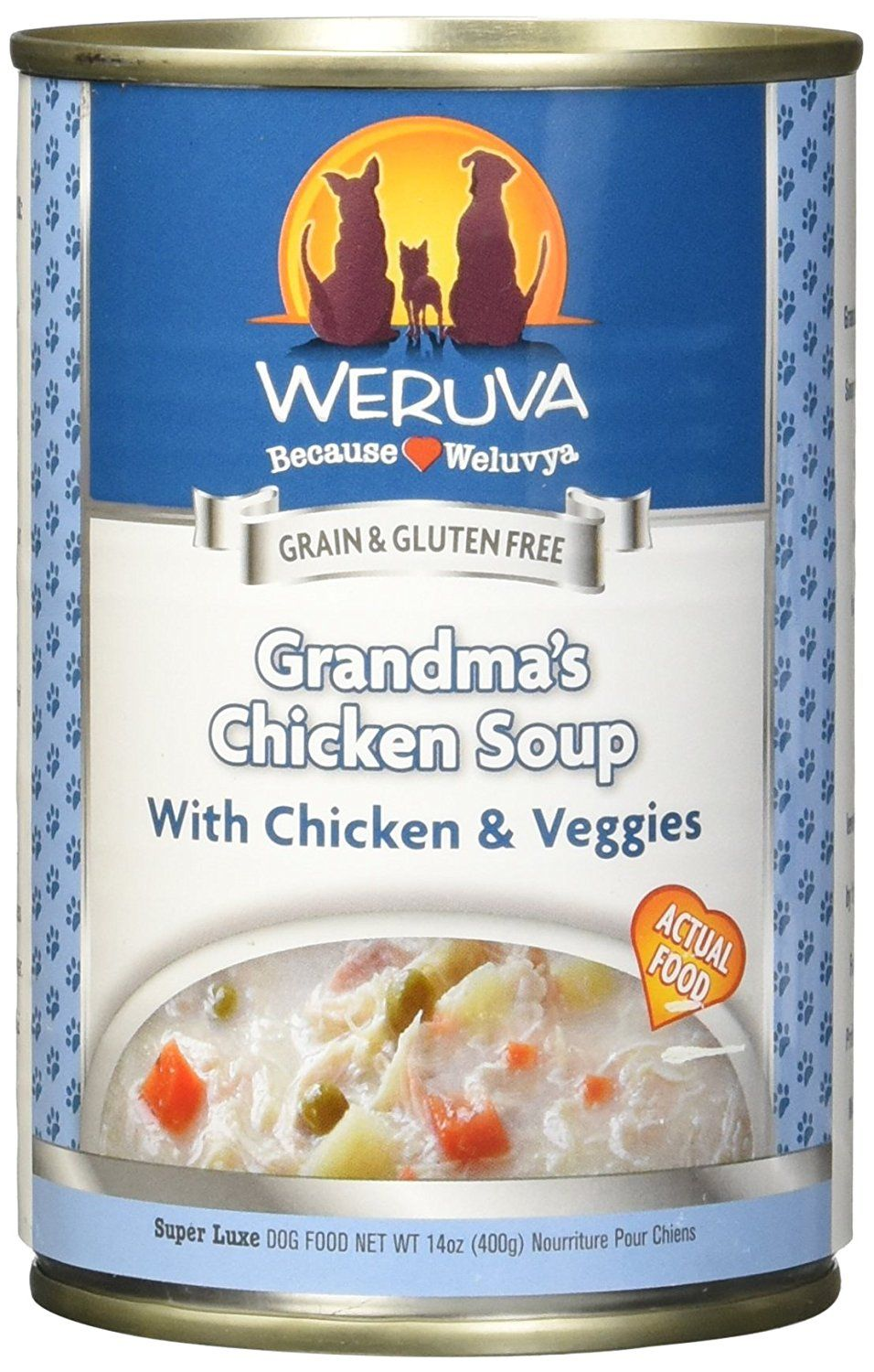 Weruva Grandma S Chicken Soup Dog Cans Food 12 Pack 14 Oz You Can Find Out More Details At The Link Of The Image Dog Food Recipes Wet Dog Food Food Net