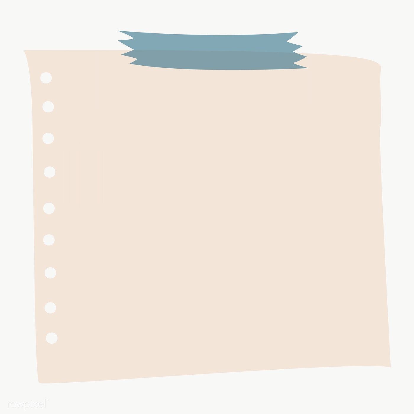 Blank Notepaper Set With Sticky Tape On Transparent Premium Image By Rawpixel Com Chayanit Fondos Para Textos Plantilla De Notas Plantillas De Cuadro